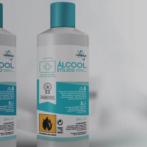 Farmala Rubbing Alcohol Label Packaging preview
